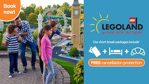 Book your October Break and get FREE Cancellation Protection worth £19.99 included!