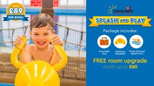 Splash and Play at LEGOLAND Windsor Resort